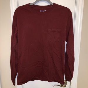 Champion long sleeve with pocket